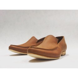 Ato handmade leather shoes wine brown