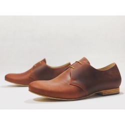 Satori Classique handmade leather shoes fatty red