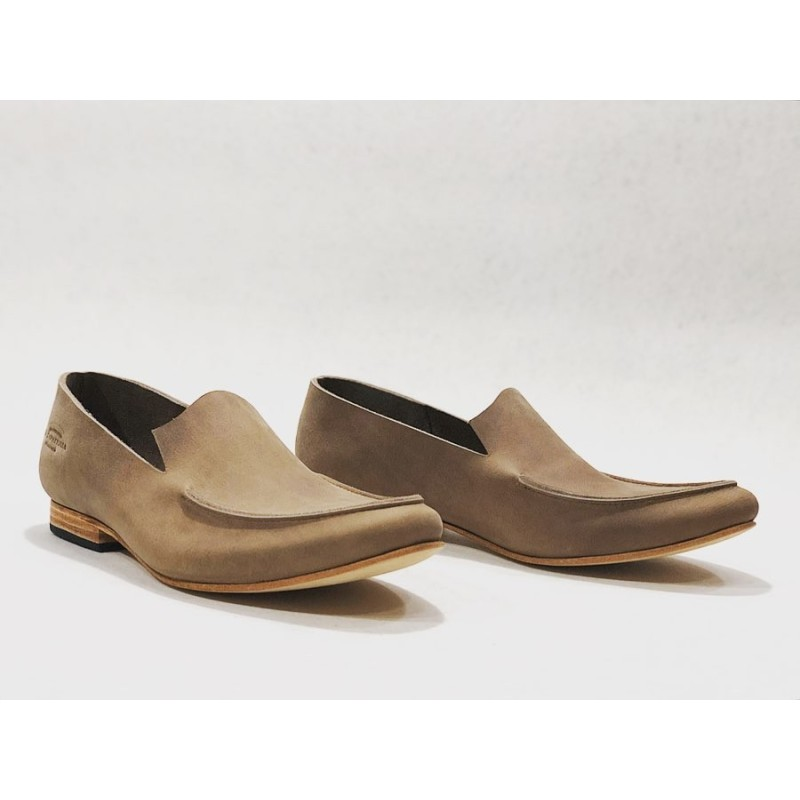 Ato handmade leather shoes fatty dry soil