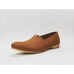 Gaucho handmade leather shoes ranger wine brown