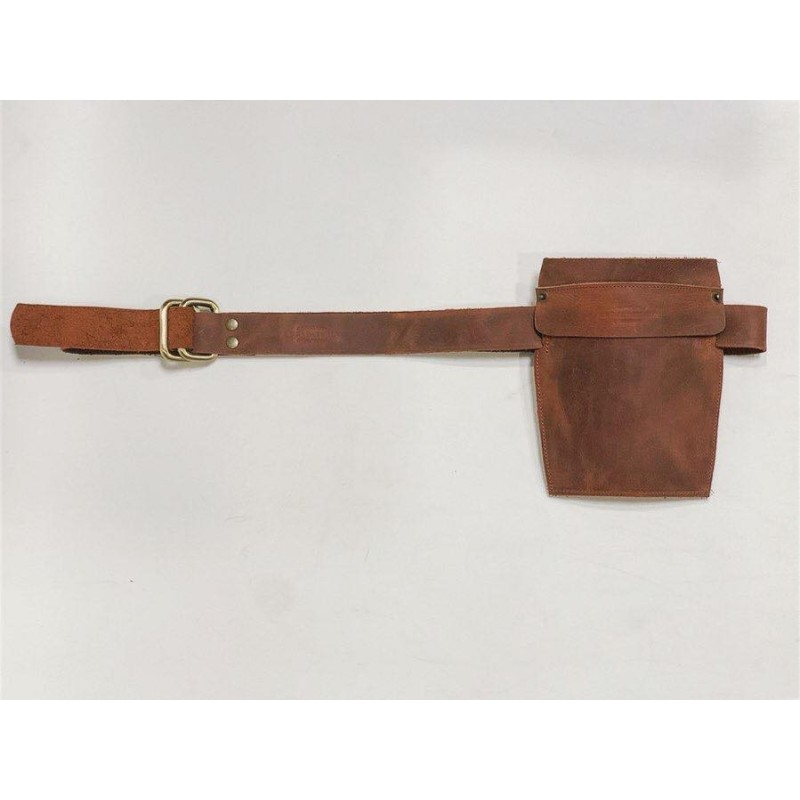 Heme handmade leather work accessory wine brown ranger