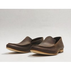 Ato handmade leather shoes fatty brown