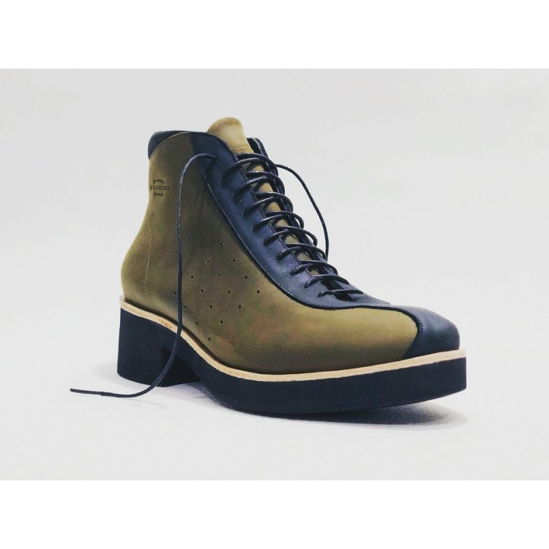 Patagonia handmade leather shoes fatty green fatty black matte