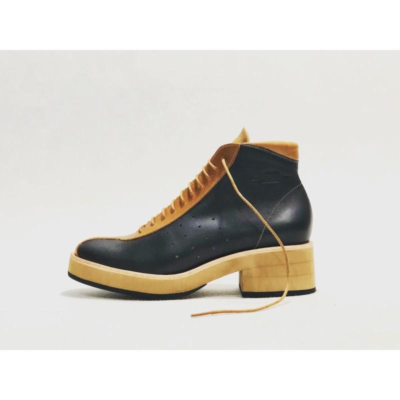 Patagonia handmade leather shoes black napa caramel ranger details caramel black beige
