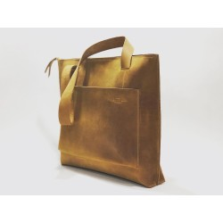 Campo handmade leather bag sand ranger